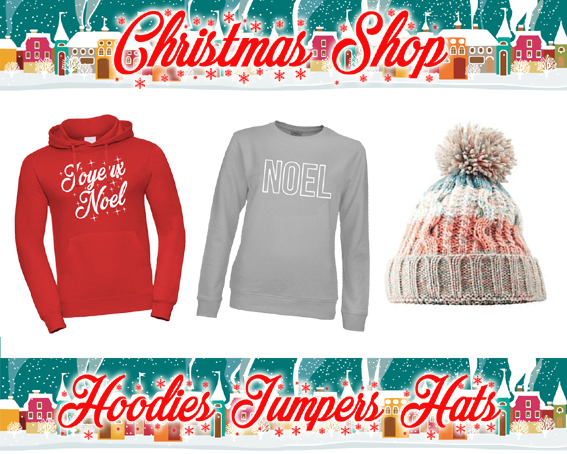 Cool  Christmas jumper bobble hats